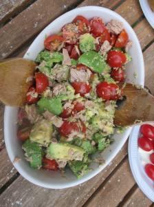 salade-thon-tomate-avocat